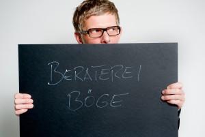Foto C. Böge, schwarze Pappe, Schriftzug